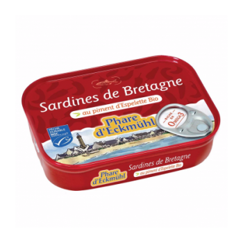 PHARE D'ECKMÜHL Sardines au piment d'Espelette bio