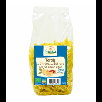 PRIMÉAL - Tortils au citron et au safran bio