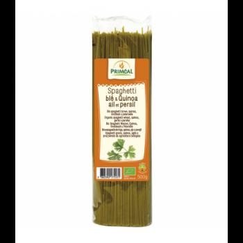 PRIMÉAL - Spaghetti blé & quinoa, ail & persil