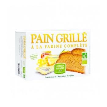 LE MOULIN DU PIVERT - Pain grillé à la farine complète bio