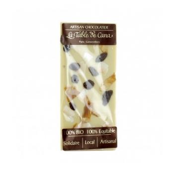Chocolat blanc 35% coco & raisin