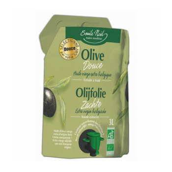 Huile d'olive vierge extra douce bio 3 L