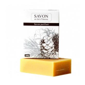 LA SAVONNERIE BOURBONNAISE Savon gamme douceur d'ânesse PURIFIANT 100% bio