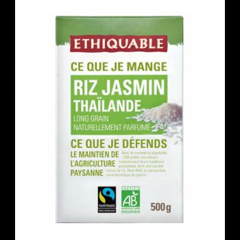 Riz parfumé au jasmin de Thaïlande bio & équitable