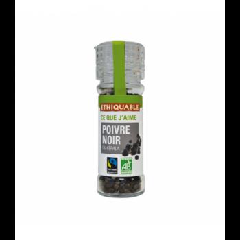 Poivre noir du Kérala en grains bio & équitable