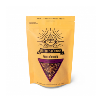 Granola figue - cajou bio, cru & vegan