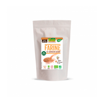 Farine de sarrasin germé sans gluten, vegan & bio