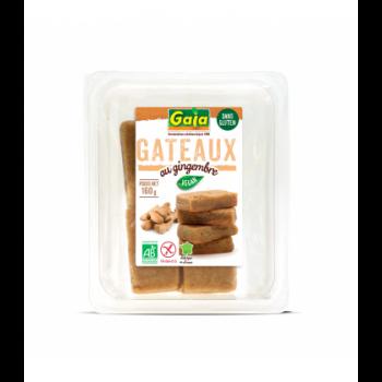 Gâteaux au gingembre sans gluten, vegan & bio