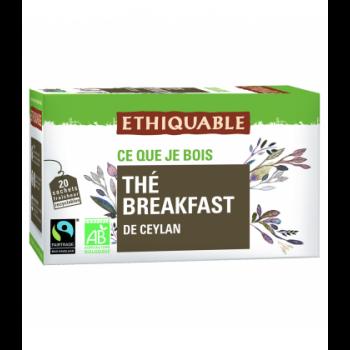 Thé noir Breakfast de Ceylan bio & équitable