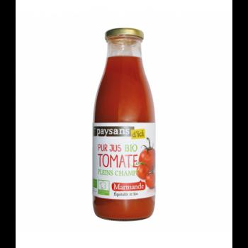 PAYSANS D'ICI Pur jus de tomate de Marmande bio & équitable