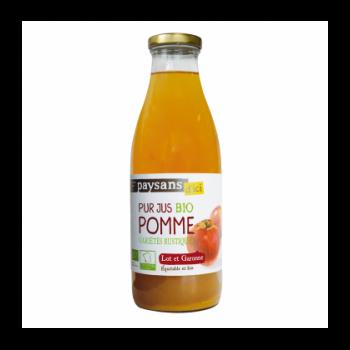 Pur jus de pomme du Lot et Garonne bio & équitable