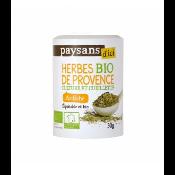 Herbes de Provence d'Ardèche bio & équitable