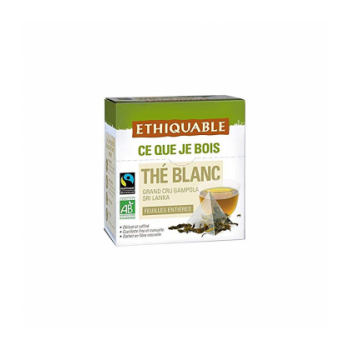 Thé blanc Grand cru Gampola bio & équitable