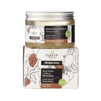 NATYR Masque capilllaire(après-shampoing) bio au Karité et à l'amande douce