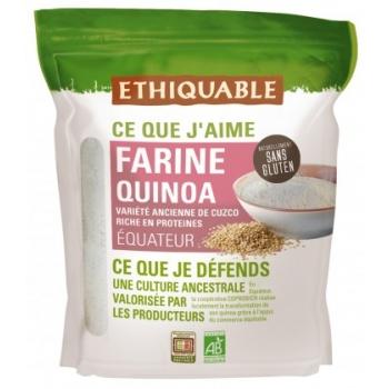 Farine de quinoa bio & équitable - natrellement sans gluten, bio & équitable