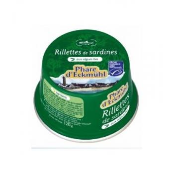Rillettes de Sardines aux Algues bio