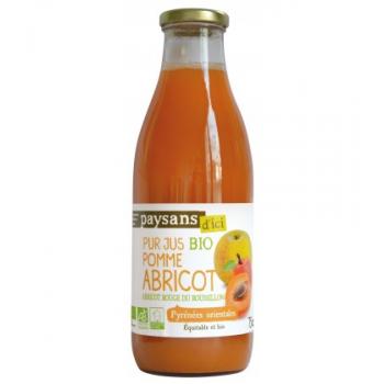 Pur jus de Pomme et d'Abricot bio & équitable