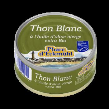 Thon blanc à l'huile d'olive vierge extra bio