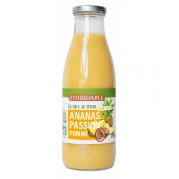 Pur Jus Ananas Passion Pomme bio & équitable