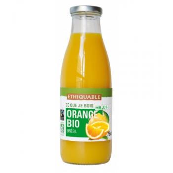 Pur Jus Orange bio et équitable