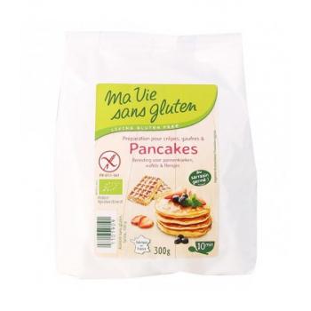 Préparation pour Crêpes, Gaufres et Pancakes bio & sans gluten