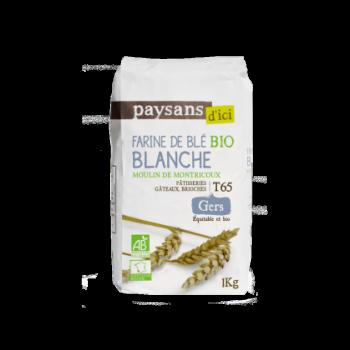 Farine de Blé Blanche T65 bio & équitable