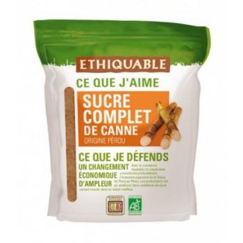 ETHIQUABLE - Sucre de canne complet bio & équitable