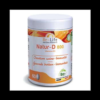 Natur-D 800 (Vitamine D3) 200 capsules - Belife