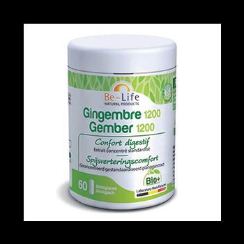 Gingembre 1200 60 capsules Bio - Belife