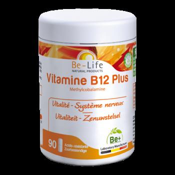 Vitamines B12 PLUS 90 gélules - Belife
