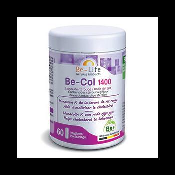Be-Col 1400 (Levure de riz rouge) 60 gélules - Belife