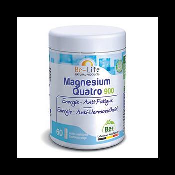 Magnesium quatro 900 60 gélules - Belife