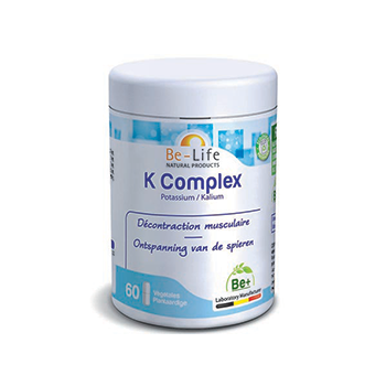K complex (potassium) 60 gélules - Belife