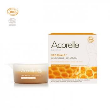 ACORELLE - Cire Royale bio - Aisselles, visage, maillot - Pot 100g