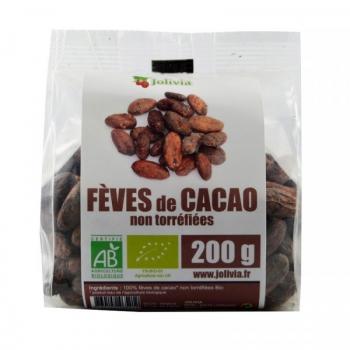 Fèves de Cacao crues Bio non torréfiées