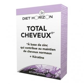 Total Cheveux - 60 Comprimés - Diet Horizon