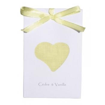Sachet parfumé - Cèdre & Vanille - Atelier Catherine Masson