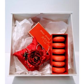 Coffret décoration & savons-macaron Épices - Masson