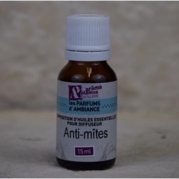 Composition Huiles essentielles Anti-mites 15 ml