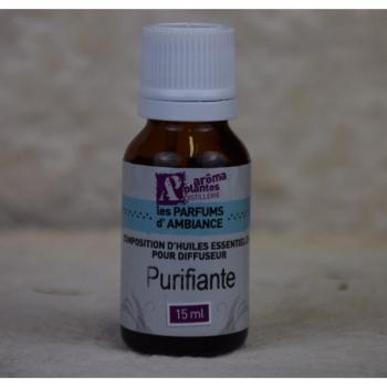 Composition Huiles essentielles Purifiante 15 ml