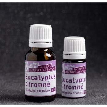 Huile essentielle d'Eucalyptus citronné biologique 10 ml
