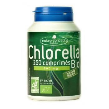 Chlorella bio - 250 comprimés