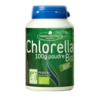 Chlorella bio - poudre 100g