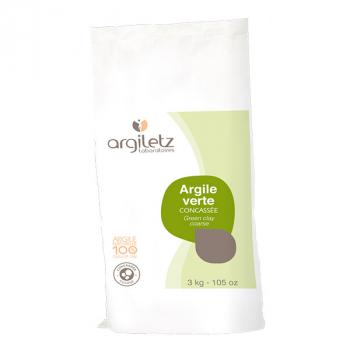 Argiletz - Argile Verte Concassée 3kg
