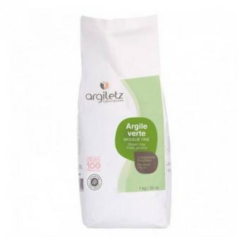 Argiletz - Argile Verte Moulue Fine 1kg