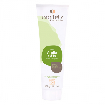 ARGILETZ - Tube d'Argile Verte en 150 et 400 gr