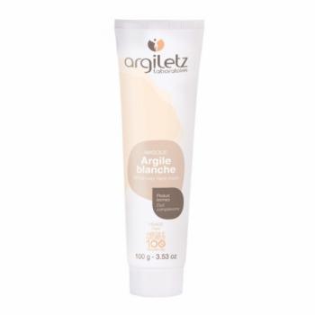 ARGILETZ - Masque argile blanche - peau terne