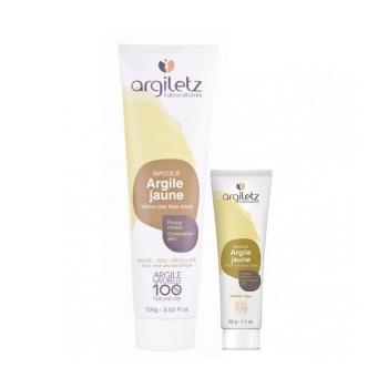 Argiletz - Masque Argile Jaune Prête À L'emploi 100g