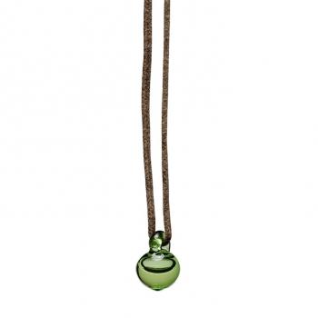 Pendentif Enfant Electro verre vert