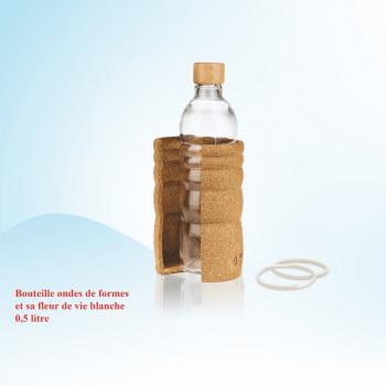 Bouteille ondes de forme 0.5 litre